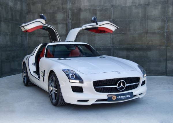 Mercedes Benz SLS 63 AMG Coupé