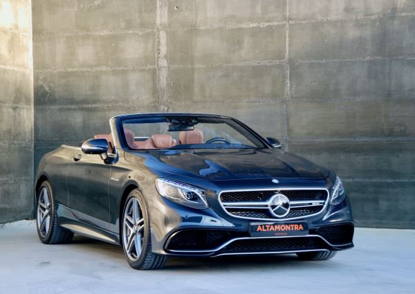Mercedes Benz S 63 AMG 4 Matic - Cabrio